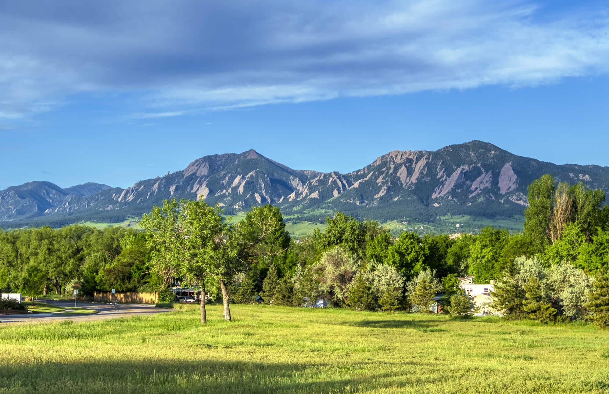 A View Of The Flatirons From Velo Condos