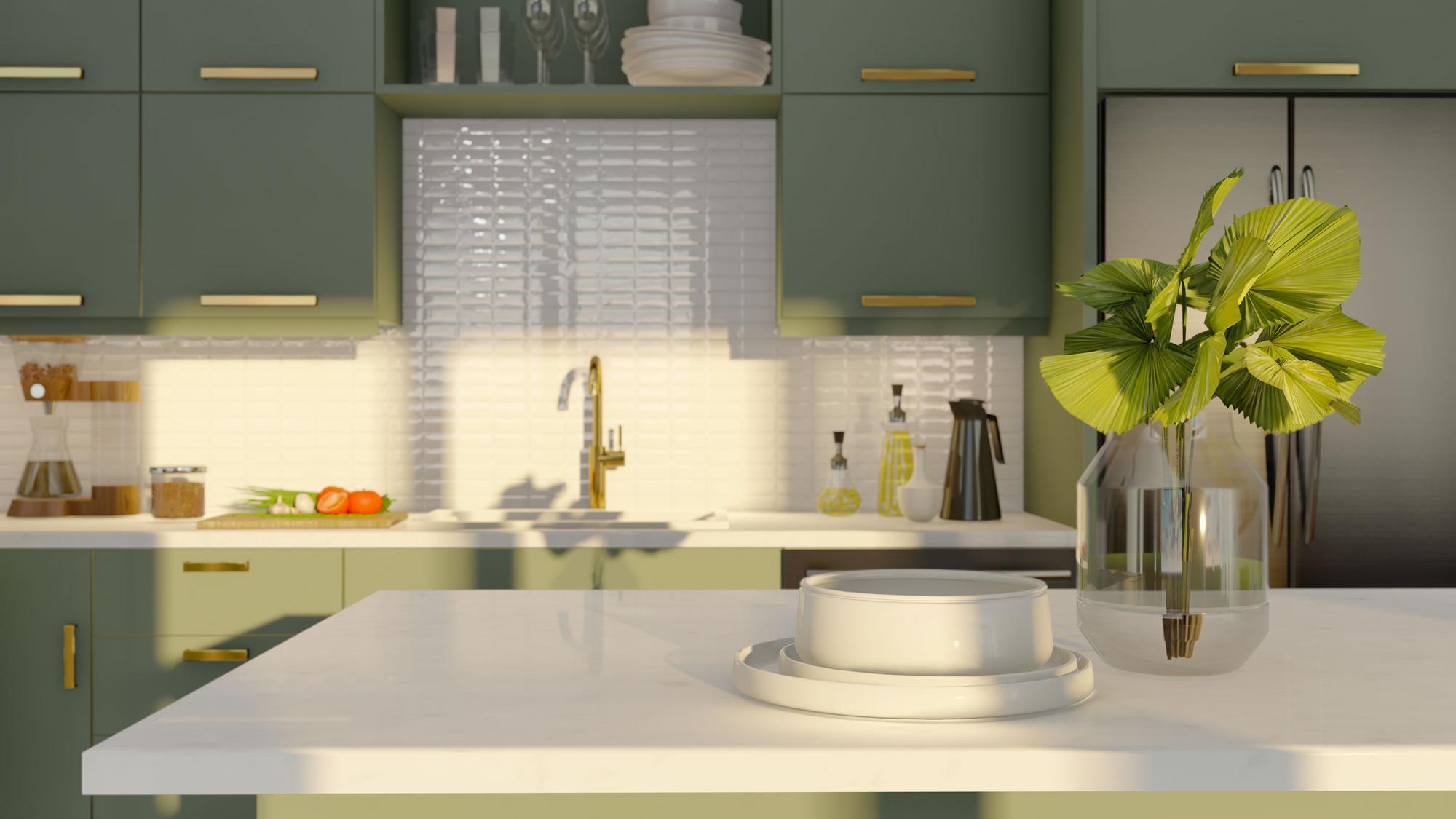 Hybrid Plan Kitchen | Wow Finish Package