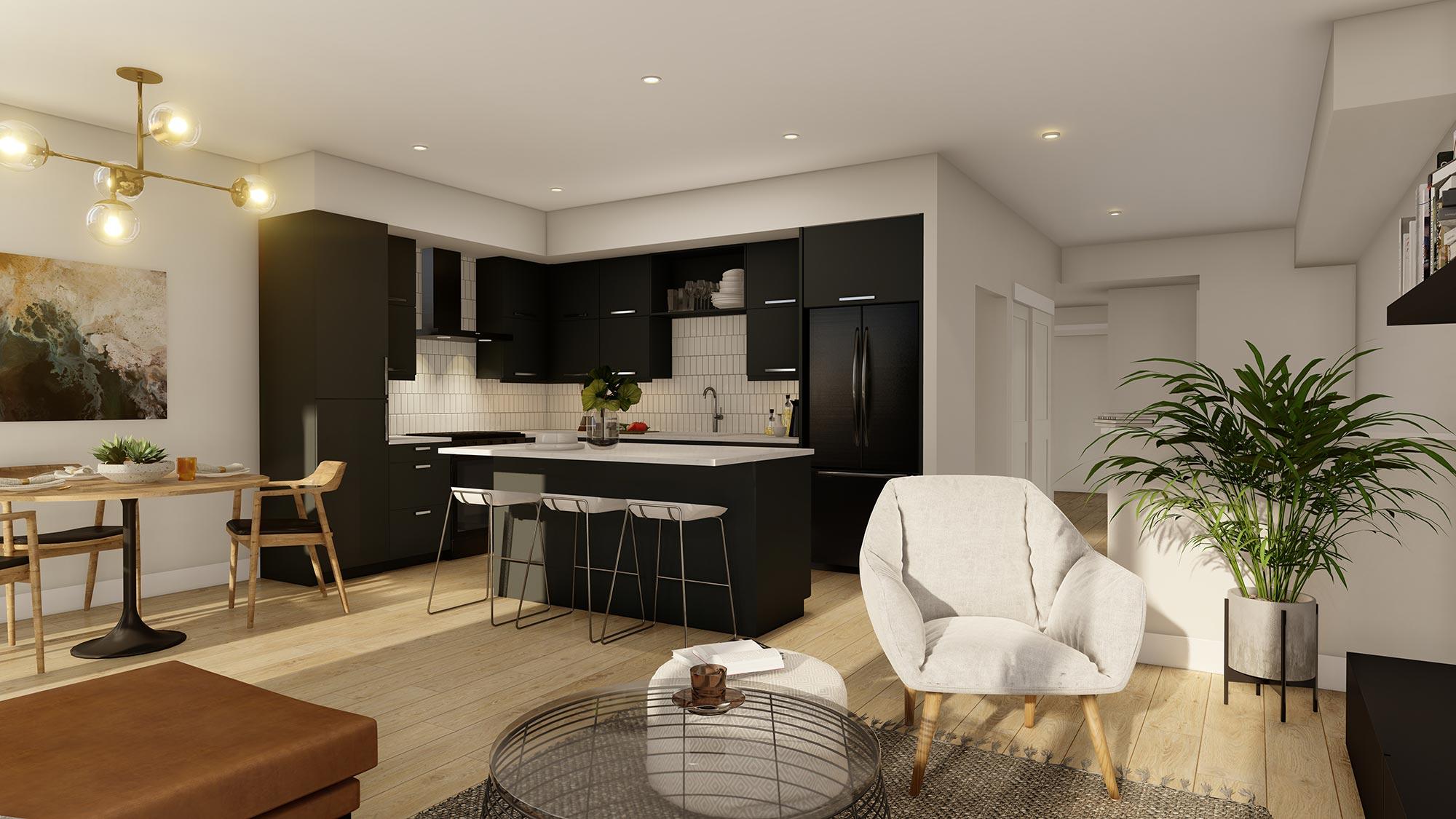 Hybrid Living Space | Dark Package