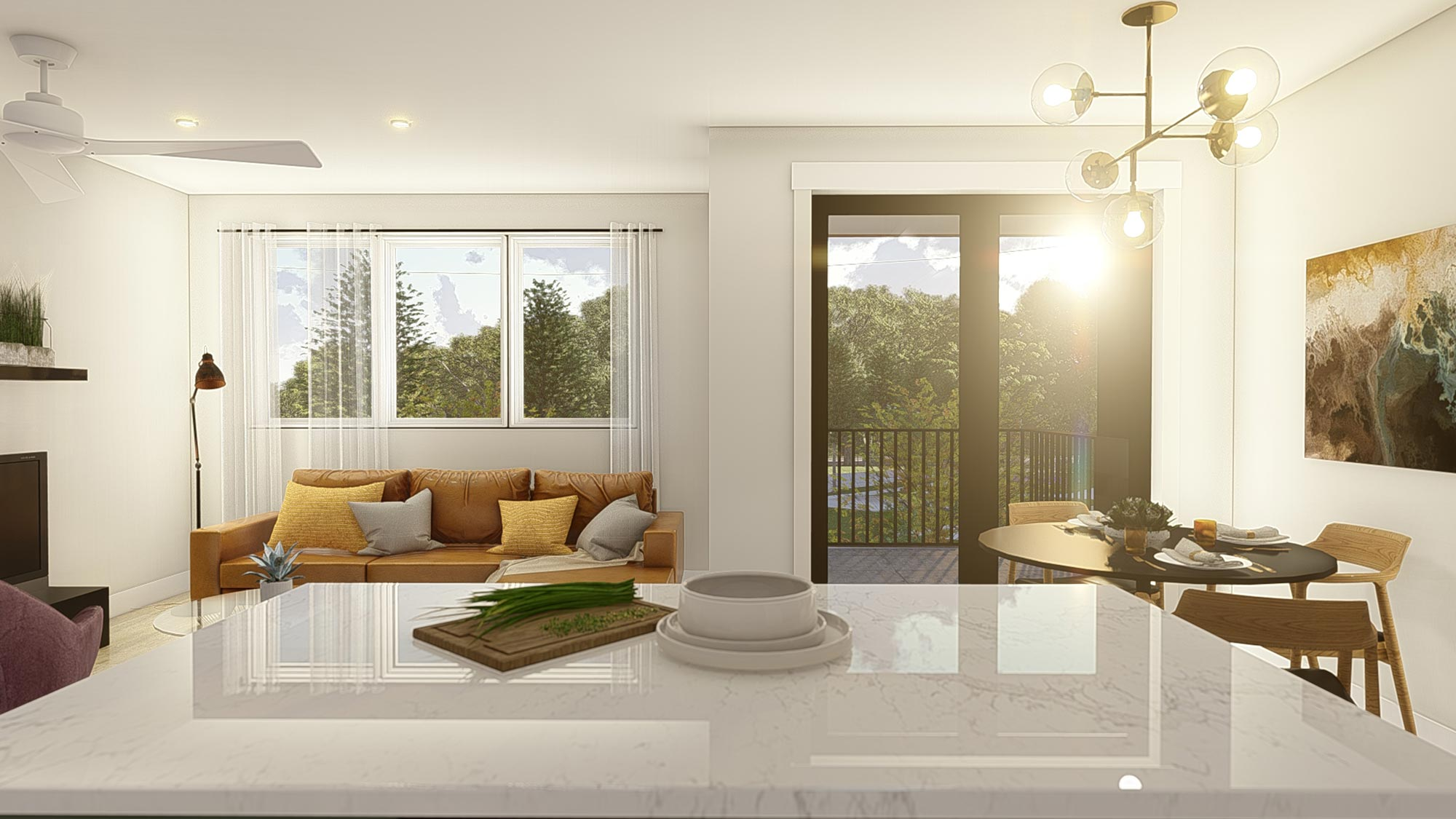 Hybrid Living Space | Light Package